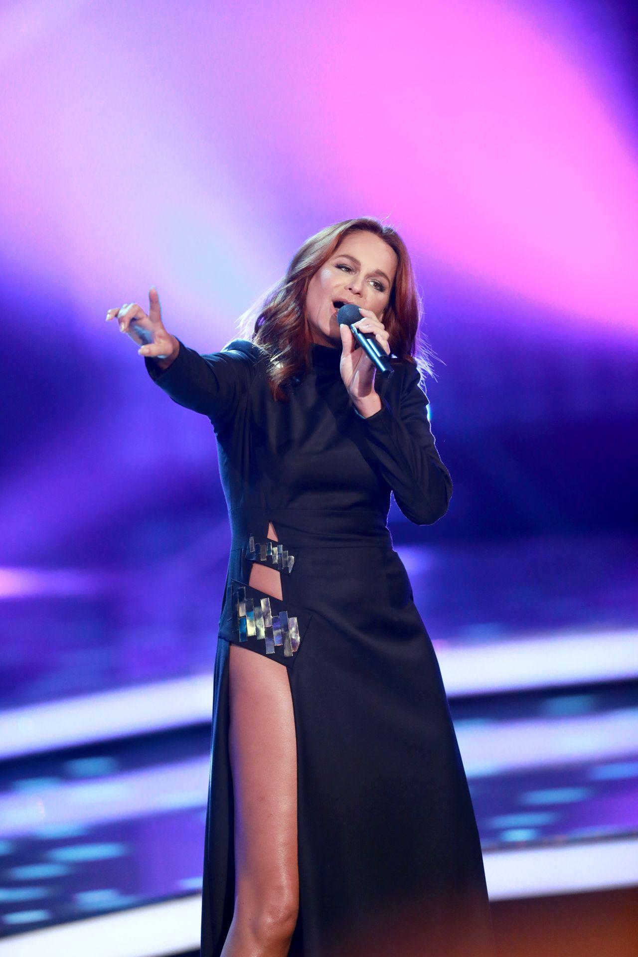 Andrea Berg – ZDF Show 'Willkommen bei Carmen Nebel' in ...