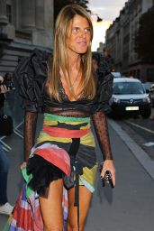 Anna Dello Russo at Nina Ricci Fashion Show in Paris 10/1/2016
