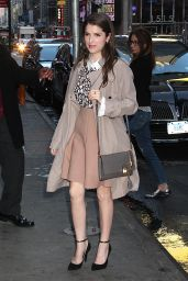 Anna Kendrick Arriving to Appear on