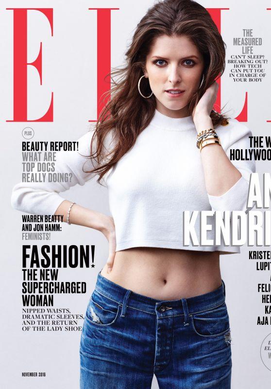Anna Kendrick - ELLE Magazine (US), November 2016