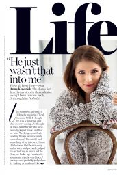 Anna Kendrick - Glamour Magazine USA November 2016 Issue