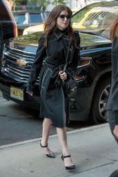 Anna Kendrick Style - Out in New York City 10/6/2016