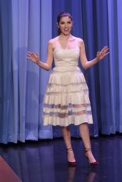 Anna Kendrick - The Tonight Show Starring Jimmy Fallon in New York 10/28/2016
