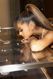Ariana Grande - Photoshoot at the Tiffany & Co. Renovated Store Unveiling in Los Angeles