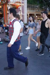 Ariel Winter at Disneyland in Anaheim 9/30/2016