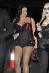 Ariel Winter Wears a Skimpy Costume - Halloween Party in Los Angeles, CA 10/29/2016