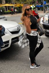 Ashanti Is All Smiles As She Steps Out in Washington 10/6/2016
