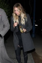 Ashley Benson - Arrives at the Delilah Club in West Hollywood 10/14/ 2016
