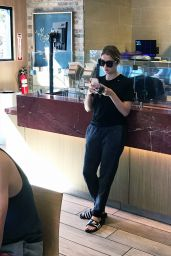 Ashley Benson at the Coffee Bean and Tea Leaf in West Hollywood, October 2016