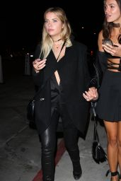 Ashley Benson Night Out Style - Catch Restaurant in West Hollywood 10/7/2016
