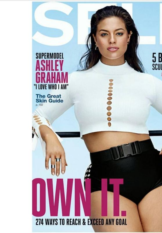 Ashley Graham - Self Magazine October 2016