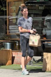 Ashley Greene in Leggings - Shopping in LA 10/10/2016