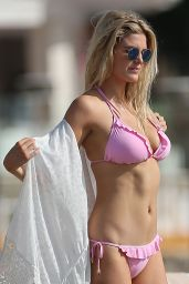 Ashley James in a Bikini, Marbella, Spain 10/17/2016