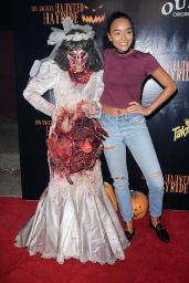 Ashley Madekwe - Los Angeles Haunted Hayride in Los Feliz 10/09/2016