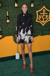 Ashley Madekwe – Veuve Clicquot Polo Classic in Los Angeles 10/15/2016