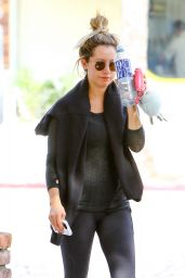 Ashley Tisdale - Finishes a Pilates Class in Los Angeles, CA 10/17/2016