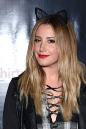 Ashley Tisdale – Los Angeles Haunted Hayride in Los Feliz 10/9/ 2016