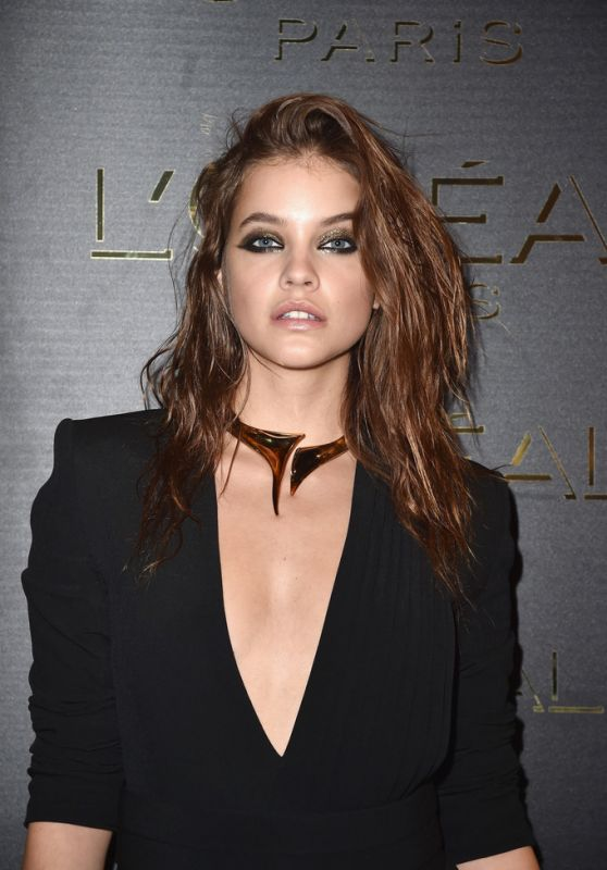 Barbara Palvin at Gold Obsession Party – Paris Fashion Week 10/2/2016