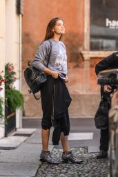 Barbara Palvin - Shopping in Italy, October 2016