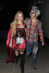 Becky Hill - M Restaurant Halloween Fête Party 10/29/ 2016