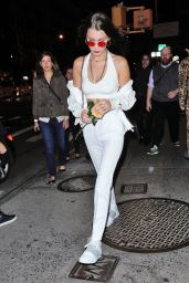 Bella Hadid Night Out Style - NYC 10/15/2016