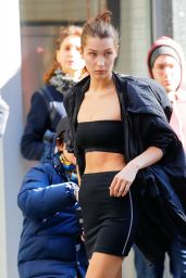 Bella Hadid - Photoshoot Set in NYC - 10/23/ 2016