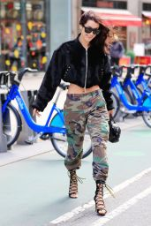 Bella Hadid Urban Outfit - New York City - 10/25/ 2016