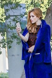 Bella Thorne Arriving at the