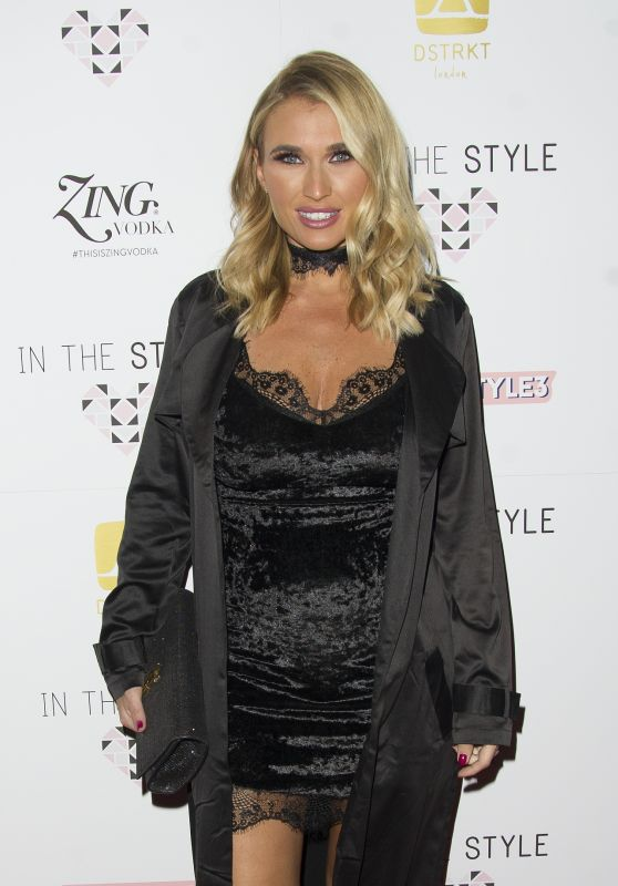 Billie Faiers – In The Style AW16 Launch Event in London 10/6/2016