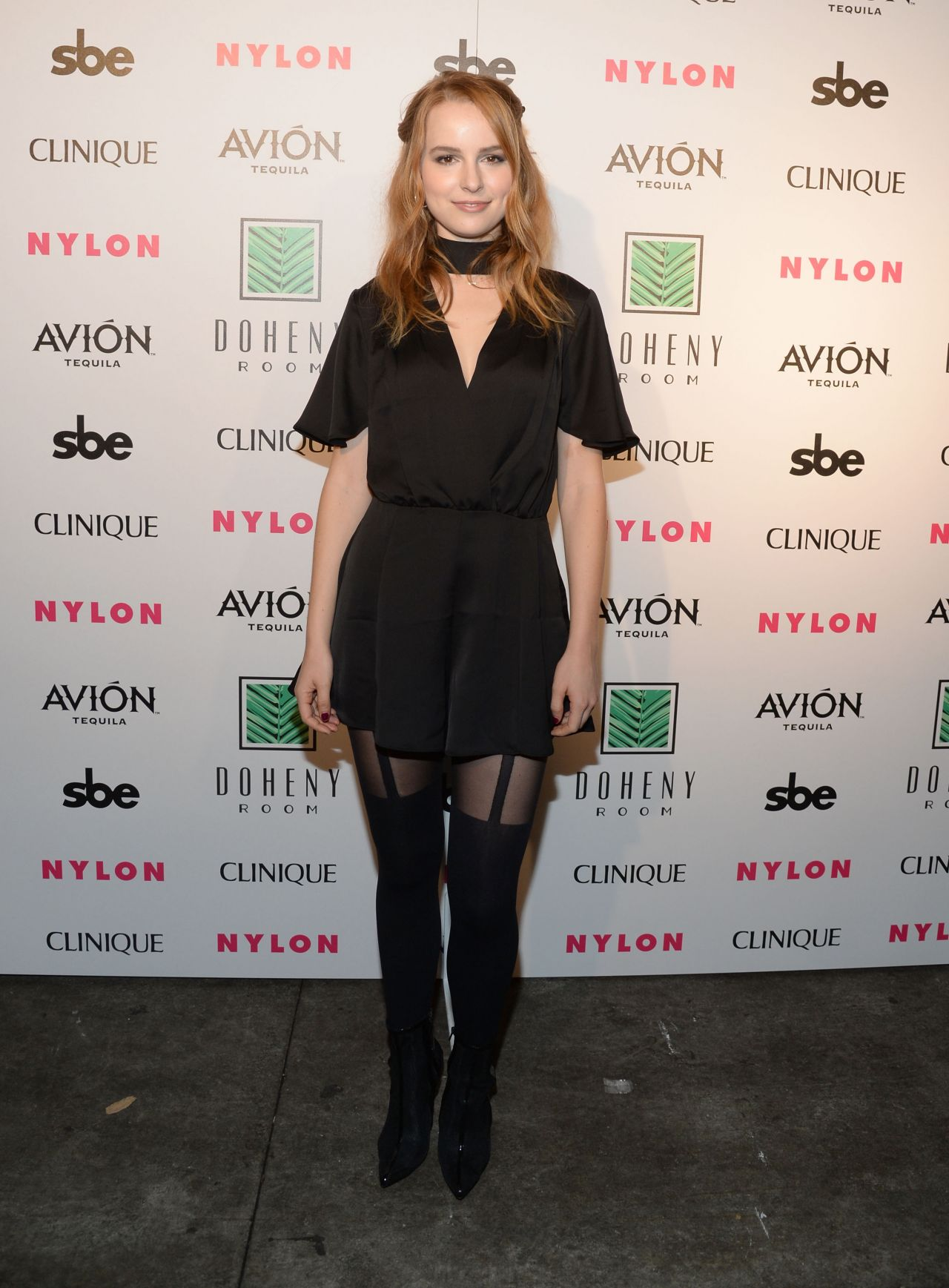 Bridgit Mendler Nylon Nights At The Doheny Room In