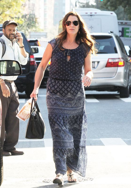 Brooke Shields - Out in Tribeca 10/18/ 2016