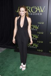 Caity Lotz – Celebration Of 100th Episode of 'Arrow' in Vancouver 10/22/ 2016