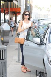 Camilla Belle - Grabs Lunch at a Panini Restaurant in Beverly Hills 10/10/2016