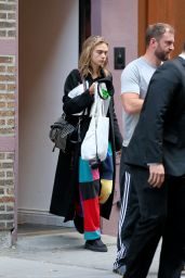 Cara Delevingne - Leaves Singer Taylor Swift