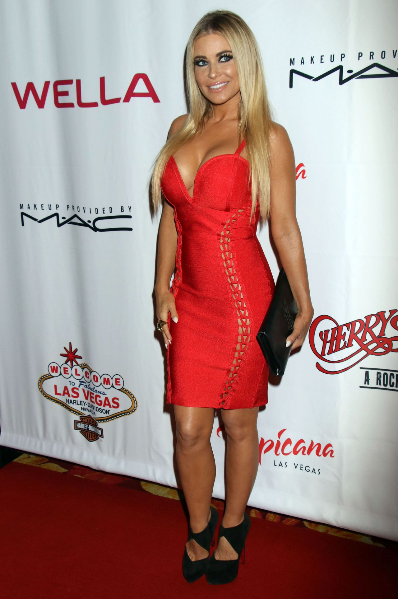 Carmen Electra Grand Opening Of Cherry Boom Boom At