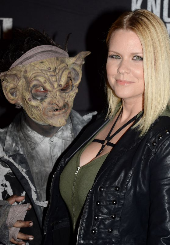 Carrie Keagan – Knott's Scary Farm Opening Night in Buena Park, CA 9/30/2016