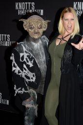 Carrie Keagan – Knott's Scary Farm Opening Night in Buena Park, CA 9/30/2016