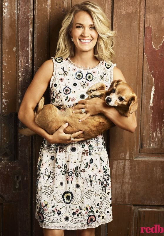 Carrie Underwood - Redbook Magazine November 2016 Cover and Pics