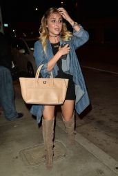 Cassie Scerbo at Catch in West Hollywood 10/5/ 2016