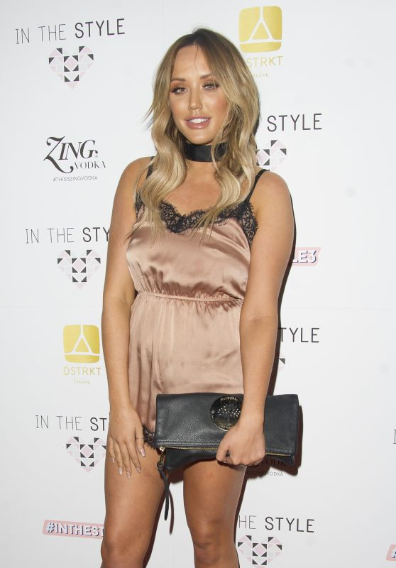 Charlotte Crosby – In The Style AW16 Launch Event in London 10/6/2016
