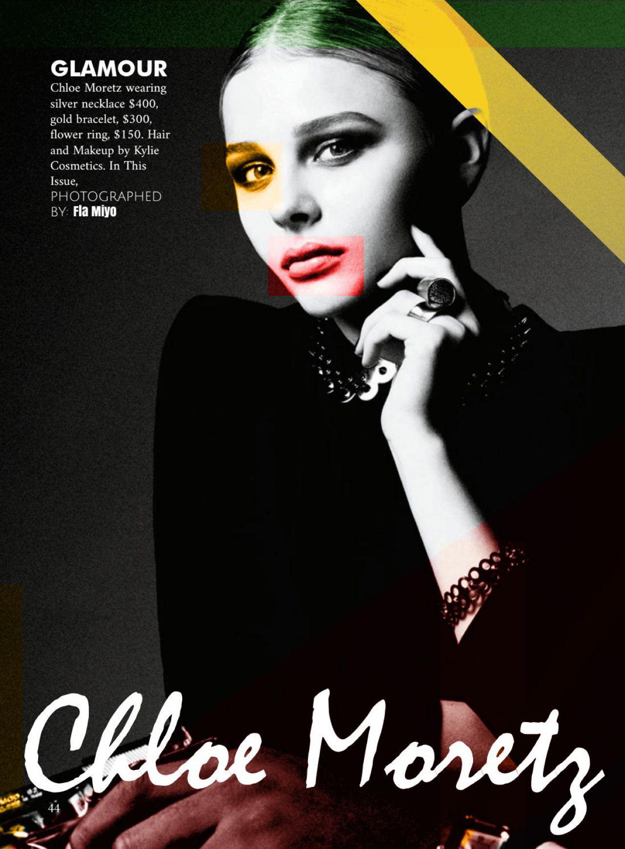 Chlo Moretz Flam Magazine October 2016 Issue Filmstar