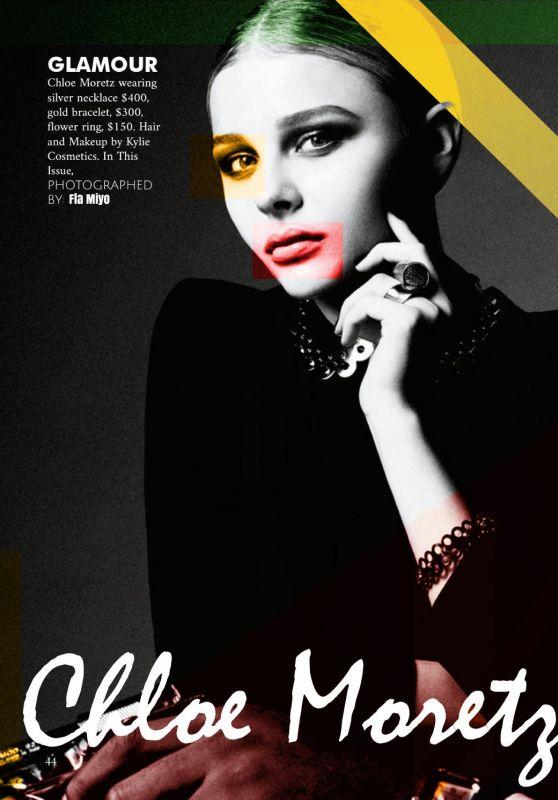 Chloë Moretz - Flam Magazine October 2016 Issue