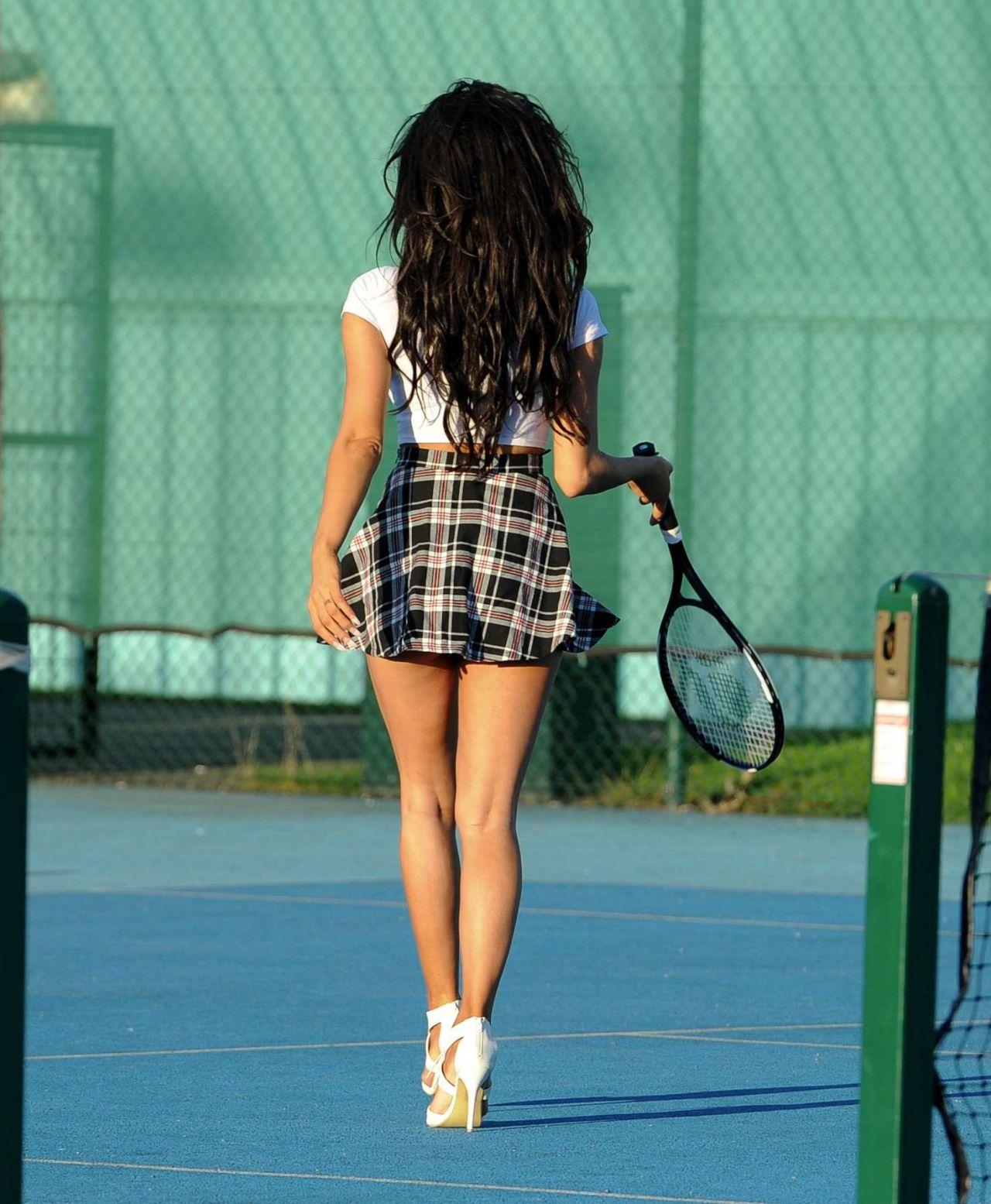 Chloe Khan Playing Tennis Manchester 10 15 2016