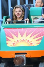 Chloe Moretz - Disneyland