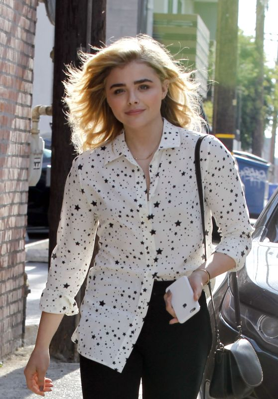 Chloe Moretz - Leaving Clementine Bakery in Los Angeles 10/13/ 2016