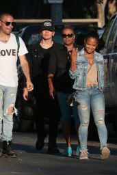 Christina Milian Casual Style - at Griffith Park in Los Angeles 10/03/ 2016