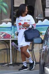 Christina Milian - Shopping in Los Angeles 10/7/2016