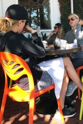 Claire Holt - Getting Lunch With a Friend in West Hollywood, CA 10/17/ 2016
