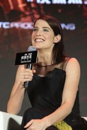 Cobie Smulders & Tom Cruise - Press Conference of Jack Reacher: Never Go Back in Shanghai, China 10/12/2016