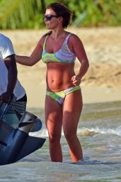 Coleen Rooney  in Bikini - Barbados 10/25/ 2016